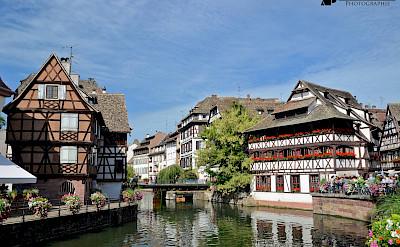 Rhine River through Strasbourg in Alsace, France. Flickr:Alexandre Prevot