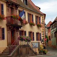 Typical architecture in Alsace, France. Flickr:ilovebutter