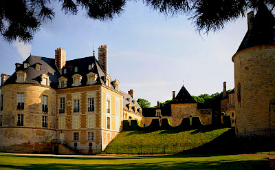 Chateau in Apremont-sur-Allier, department Cher in the Centre-Val de Loire region of France. Wikimedia Commons:Lolob