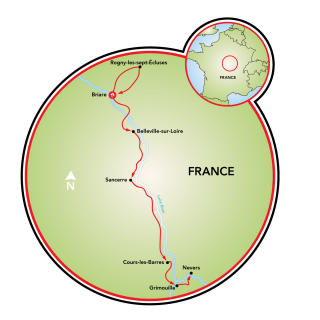 Loire Valley Bike and Boat Map