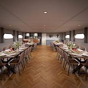 Restaurant | Magnifique IV | Bike & Boat Tours