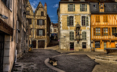 Auxerre, Burgundy, France.