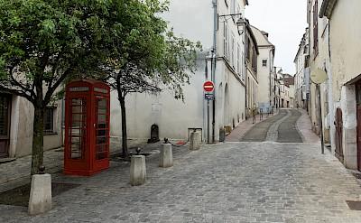 Biking through Auxerre, Burgundy, France. Flickr:Anna & Michal