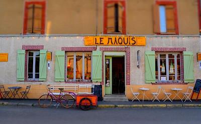 Biking the Burgundy France tour.
