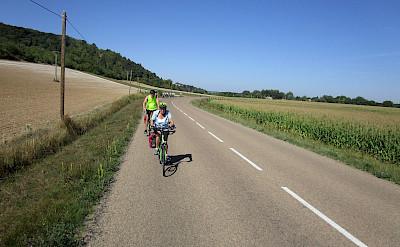 Biking Burgundy, France.