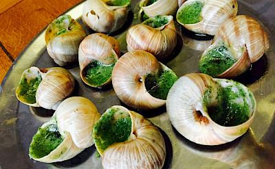 Escargot de Bourgogne is a local favorite. Flickr:Tseng