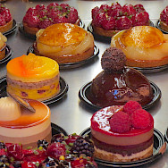 Fancy French desserts await of course! Flickr:John Mason