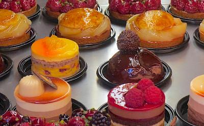 Fancy French desserts await of course! Flickr:John Mason