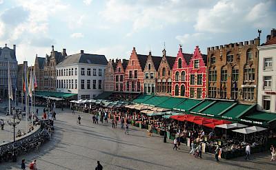 The <i>Markt</i> in Bruges, part of the Flemish region of Belgium. Flickr:Anarey