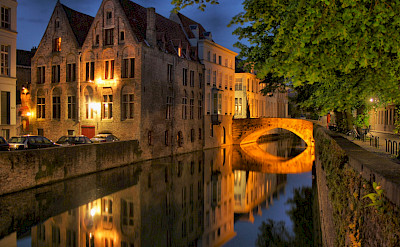 "Bruges, the ""Venice of the North"" in Flemish part of Belgium. Flickr:Scott Liddell"