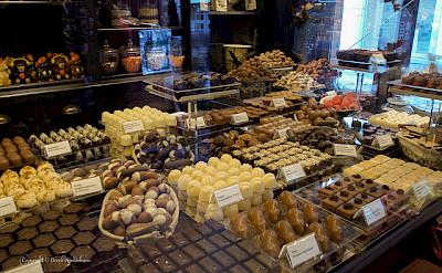 Chocolates in Belgium, of course! Flickr:DereknWinterburn