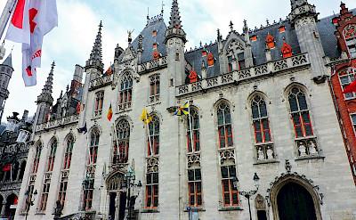 The Provinciaal Hof Courthouse in Bruges, Belgium. Flickr:Dimitris Kamaras