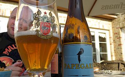 Great local brewerijs: Papegaei from Brouwerij Verstraiete in Diksmuide, Belgium. Flickr:Bernt Rostrad