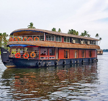 House Boat in India