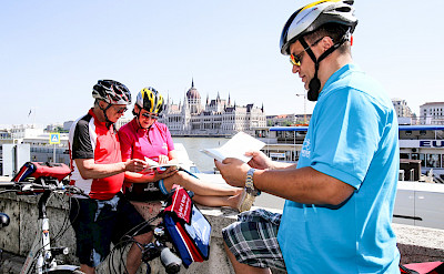 Bikers in Budapest | Fortuna Boat | Bike & Boat Tours