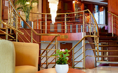 Foyer on the Fortuna | Bike & Boat Tours