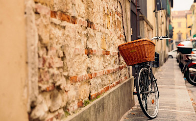 Bike rest in southern France. Photo via TO
