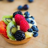 Custard tarts - yummy French desserts await! Photo via TO