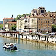 Saone River in Lyon, France. Flickr:Dennis Jarvis
