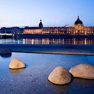 River through Lyon, France. Photo via TO