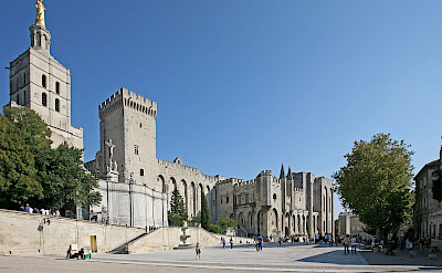 Palais des Papes (Pope's Palace) in Avignon, France. Creative Commons:Jean-Marc Rosier