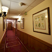 Corridor on the lower deck