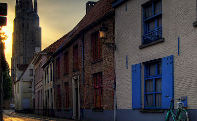 Cobblestone streets await in Bruges, Belgium. Flickr:Wolfgang Staudt