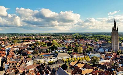 Overlooking Bruges, Belgium. Flickr:grassrootsgroundswell