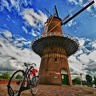 Windmill in Rotterdam, the Netherlands. Flickr:Luca Bolatti Guzzo