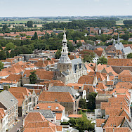 Overlooking Zierikzee in the Netherlands. Flickr:Jose Maria Barrera Cabanas