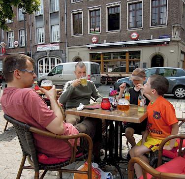 Belgium's love their beer! Here in Antwerp. Flickr:Stephen Whiffin