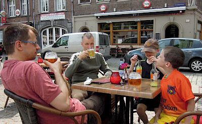 Belgium's love their beer! Here in Antwerp. Flickr:Stephen Whiffin