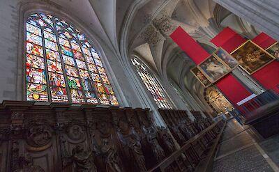 Cathedral in Antwerp, Belgium. Flickr:David Shamma