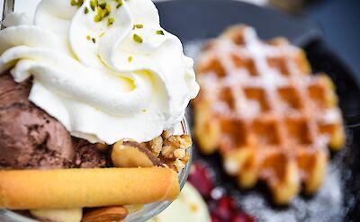 Belgian waffles! Flickr:Maria Eklind