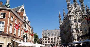 Main square in Leuven, Belgium. Flickr:Filippo Diotalevi