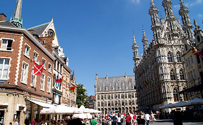Main square in Leuven, Belgium. Flickr:Filippo Diotalevi
