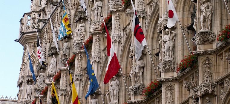 Leuven in Flemish Brabant, Belgium. Flickr:Pedro