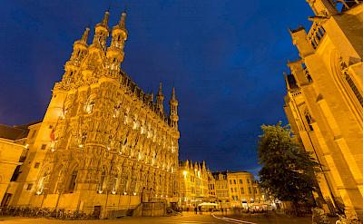 Town Hall in Leuven, Brabant, Belgium. Flickr:Jiuguang Wang