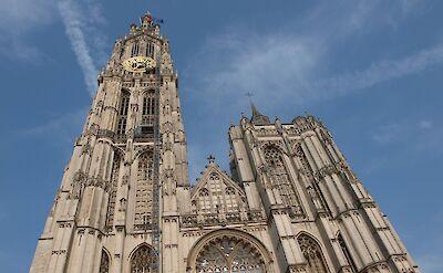 Onze Lieve Vrouwekathedraal in Antwerp, Belgium. Flickr:Nigel Swales
