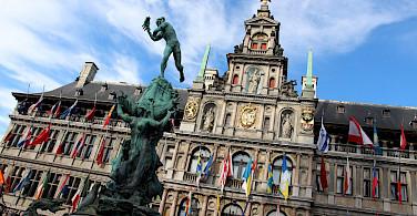 Stadhuis in Antwerp, Flanders, Belgium. Photo via Flickr:Fred Romero