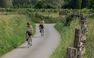Biking the Venice to Florence Italy Bike Tour.