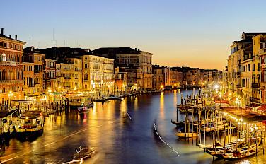 Grand Canal in Venice, Veneto, Italy. Flickr:Pedro Szekely