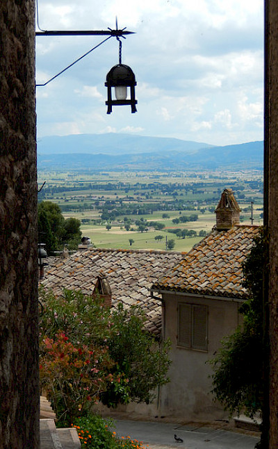 Great views in Tuscany, Italy.