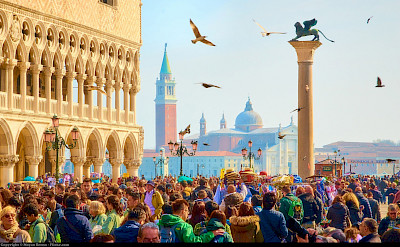 Piazza San Marco in Venice, Italy. Flickr:Moyan Brenn
