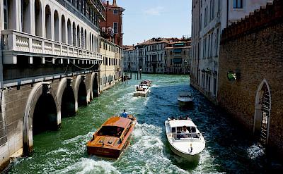 Venice's Rio dei Tolentini in Veneto, Italy. Flickr:Franco Vannini