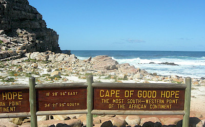 Cape of Good Hope in South Africa. Wikimedia Commons:Chen Hualin