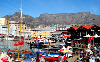 Victoria & Albert Waterfront in Cape Town is massive! Flickr:Terrence Franck