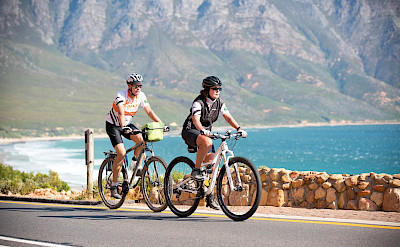 Rewarding cycling on the Garden Route in South Africa!