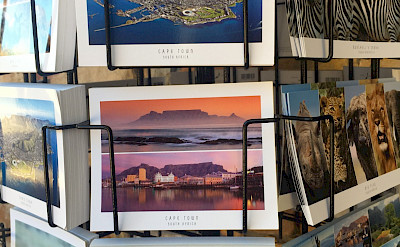 Postcards for sale in Cape Town, South Africa. Photo:Gea