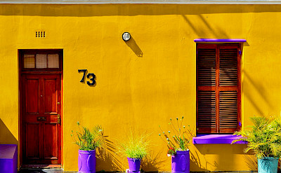 Africans love color! Here a home in Bo-Kaap, Cape Town, South Africa. Wikimedia Commons:Moheen Reeyad